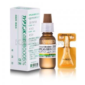 Капли Каталин (Catalin-K 0,005%) для профилактики и лечения катаракты