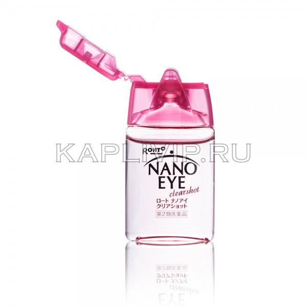 Купите инновационные нанокапли Rohto Nano Eye Clearshot для освежения глаз. Обеспечьте глазам ясный взгляд!