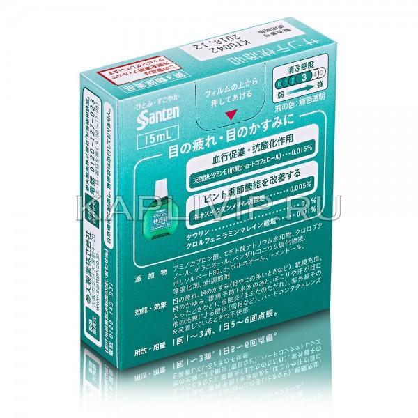 Купите возрастные глазные капли Sante 40 Kaiteki с витамином Е для поддержания здоровья глаз
