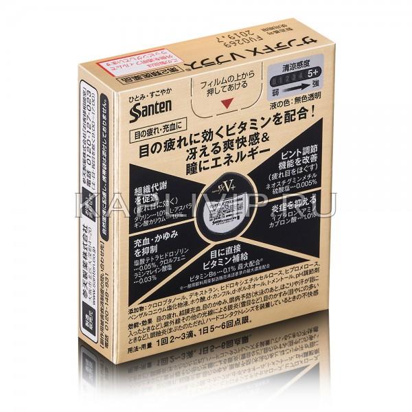 Купите действенные глазные капли с ментолом и витамином В6 Sante Fx V+ от красноты и дискомфорта в глазах. Проявите заботу о зрении!