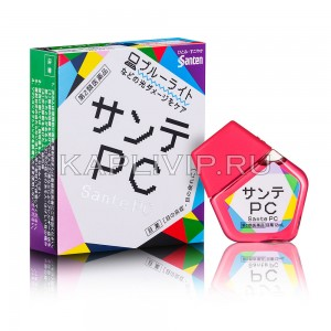 Капли с витаминами Sante PC при длительной работе за компьютером