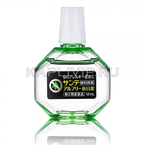 Купите глазные капли Santen Alfree для ликвидации аллергических проявлений. Подарите глазам успокоение в сезон аллергии!
